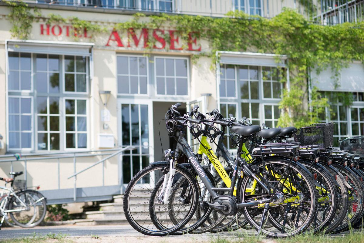 Fahrradurlaub im Hotel Amsee